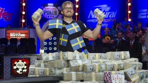 WSOP 2014: 10 millones para el sueco que quería ser chef en Barcelona