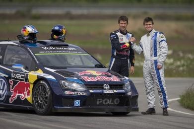 Carlsen, copiloto del bicampeón del mundo de Rallys, Sébastien Ogier