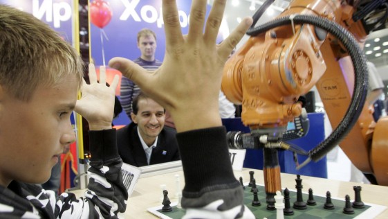 El gesto más deportivo, en un torneo de máquinas