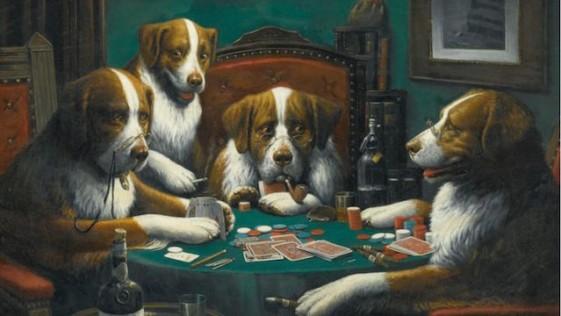 El Cuadro Perros Jugando Al Poker Vendido Por 620 000 Euros