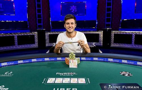 César García, primer brazalete español en las WSOP desde 2003