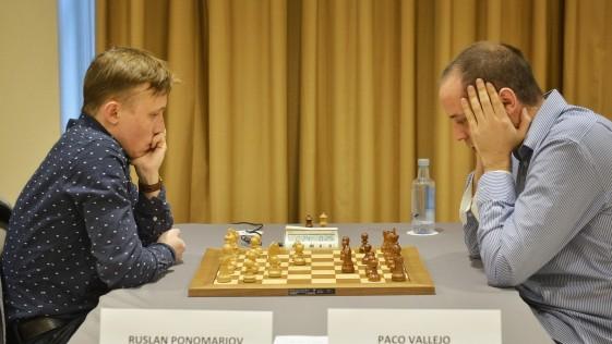 Ponomariov y Vallejo, campeones neoclásicos en Madrid