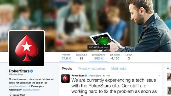 Caída masiva de los servidores de PokerStars