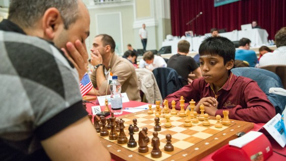 Praggnanandhaa, el niño indio ajedrecista que ya se codea con la élite