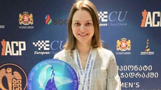 Anna Muzychuk, campeona de Europa (la española Matnadze, cuarta)