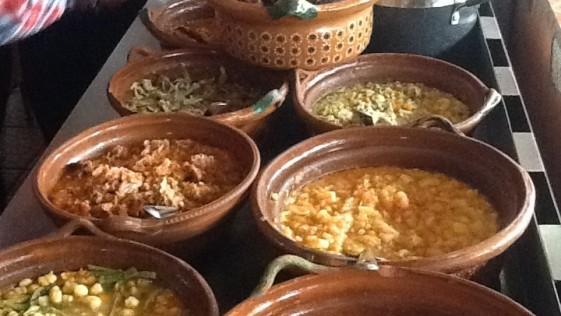 Disfrutando la cocina popular en Guanajuato