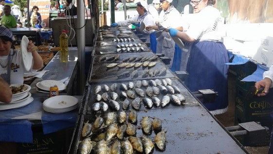Las sardinas y Candás
