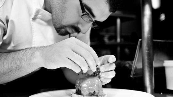 El menú granadino de Juan Andrés Morilla en El Claustro