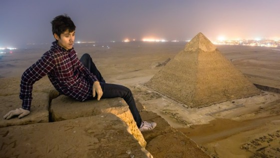 ¿Quiénes son esos locos rusos que han escalado la pirámide de Keops?