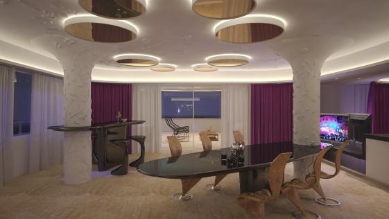 Así es la suite de los 5.000 euros la noche en Ibiza