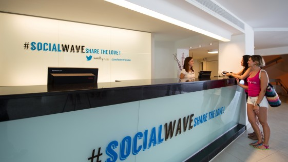El primer «Twitter Experience Hotel» del mundo