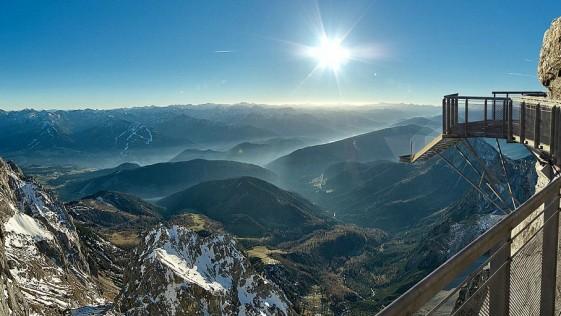 Inauguran en los Alpes el mirador más escalofriante del mundo
