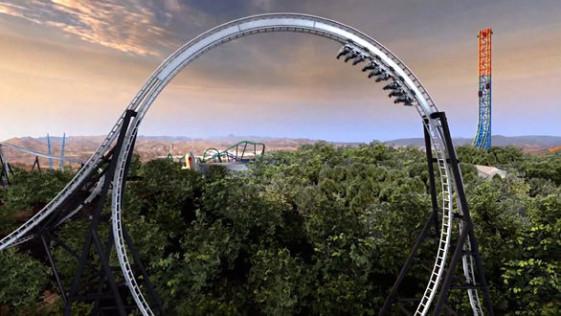 Full Throttle: inauguran la montaña rusa más «salvaje» del mundo