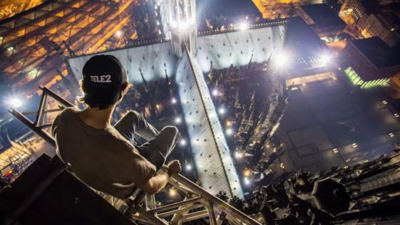 """Skywalking: la """"locura"""" de los fotógrafos rusos que coquetean con la muerte"""