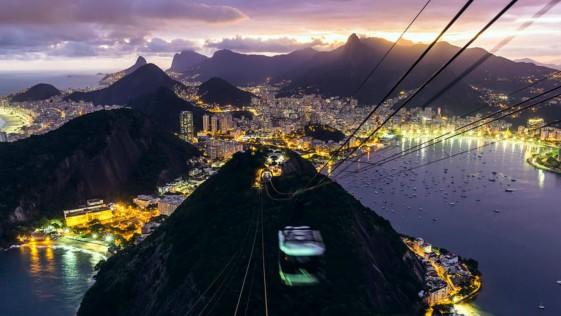 Time lapse de Río de Janeiro: brillante retrato de una belleza con dos caras