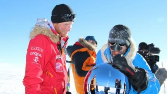 El príncipe Enrique de Inglaterra conquista el Polo Sur
