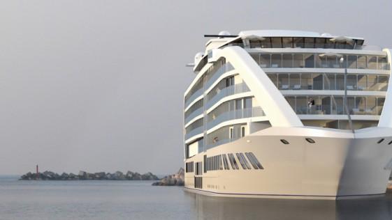 Lo último: un nuevo e increíble «barco-hotel» en Gibraltar