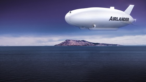 Airlander: la aeronave más grande del mundo, en manos del cantante de Iron Maiden