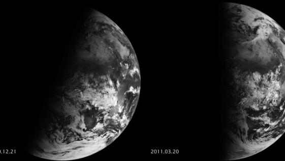 Un año de equinoccios y solsticios vistos desde el espacio (vídeo)
