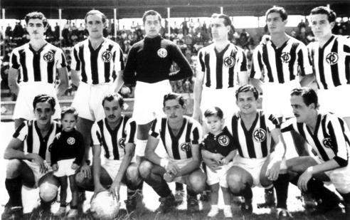 Cuando España era un equipo de la Liga mexicana