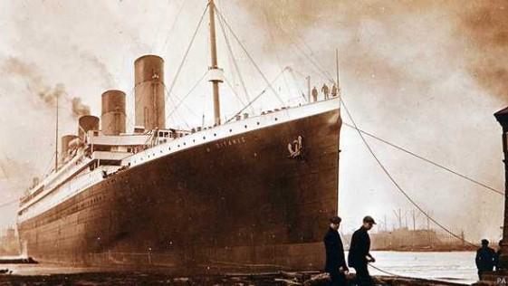 Fotos inéditas de la botadura del Titanic