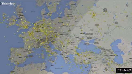 Cuántos aviones vuelan cada día en el mundo