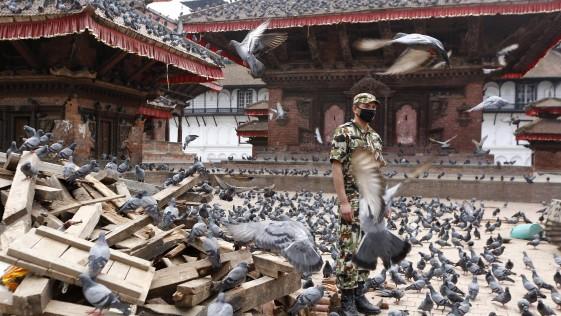 El alcance real de la destrucción del patrimonio cultural de Nepal