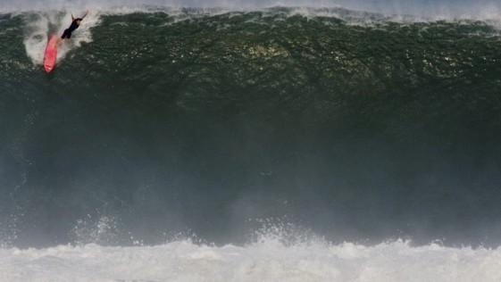 La caída más violenta de la historia del surf