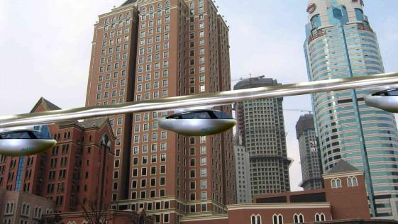 """SkyTran: el """"aerotaxi"""" que cambiará nuestras ciudades ya está aquí"""
