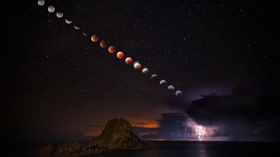 La foto española de la Superluna, entre las mejores del año de Time