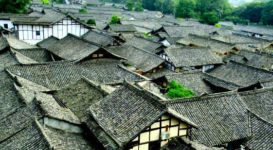 Langzhong, estrella emergente del turismo en China
