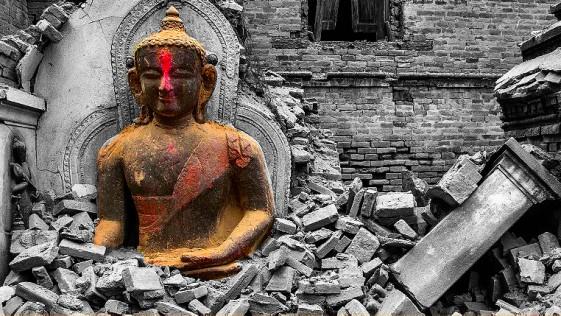 Así ha quedado Nepal