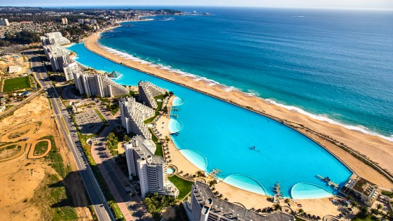 La piscina m s grande del mundo orientaciones for Piscina mas grande del mundo chile