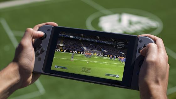 EA entra por la puerta grande en Switch con FIFA 18