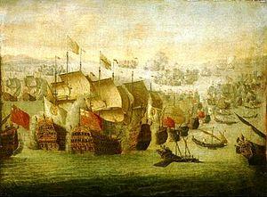 La batalla naval de Vélez-Málaga. El día en el que ardió la mar en 1704