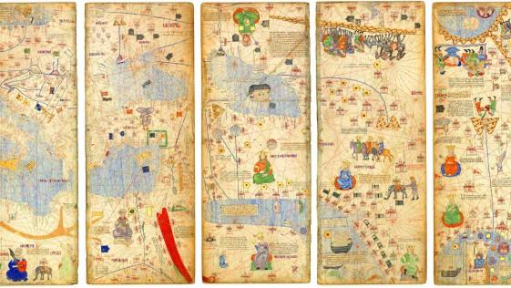 """El poder en el mundo. Un mapa, """"el mayor de los prestigios""""."""