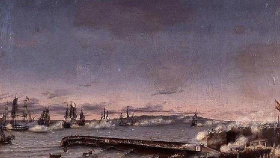 El día que soldados ingleses de Nelson y españoles compartieron patio de armas…