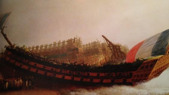 Las águilas Imperiales Francesas que procedían de la mar