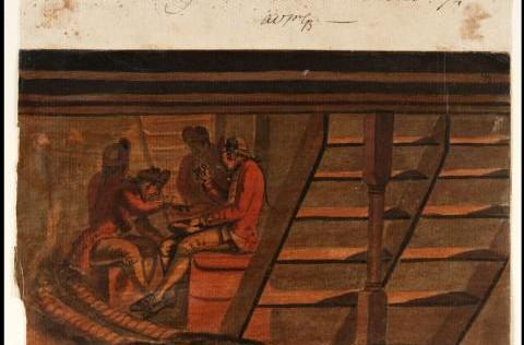 La cocina de Trafalgar: con Nelson, pudín. Con Gravina, tocino. Diario de fuerza y vida.