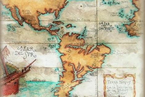 Los mapas auténticos del Tratado de Tordesillas