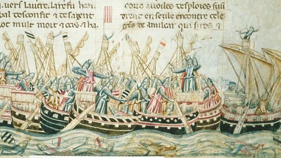 Septiembre de 1338. El año que por primera vez rugió el cañón sobre la mar