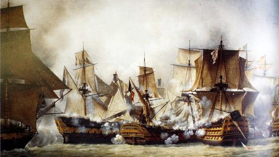 Gran Bretaña gana con la Ciencia la última batalla del HMS Victory de Nelson.