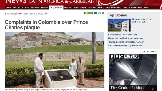Más consecuencias de la placa de Vernon en Cartagena