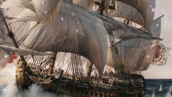 Ferrer-Dalmau pone a navegar otra vez al navío Glorioso