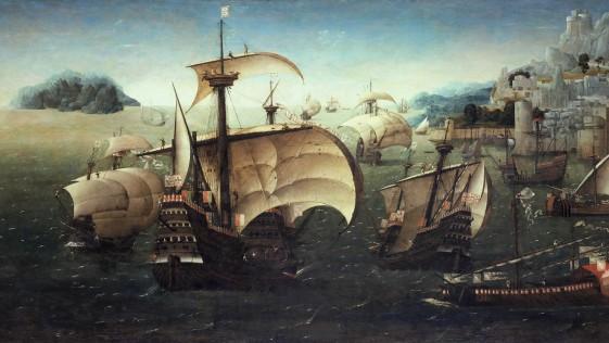 Joachim Patinir 1520…¿la primera marina de la historia?