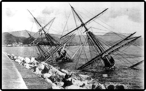 Gneisenau, el naufragio que da título a la ciudad de Málaga
