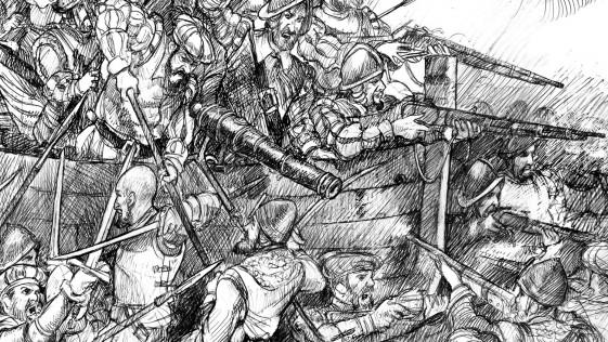 Cervantes en Lepanto: soldado bisoño que luchó en el esquife de la Marquesa