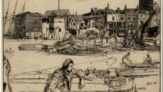 Whistler; el realismo mágico de las tabernas y puertos del XIX