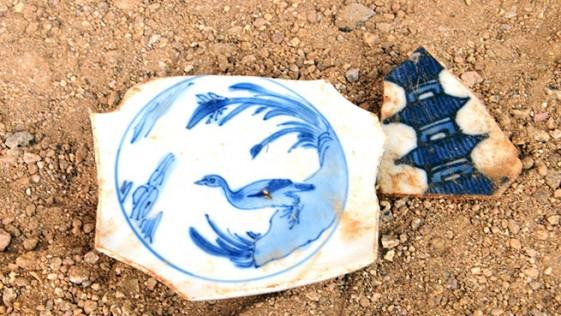 Un basurero lleno de cerámica Ming en el centro de Acapulco
