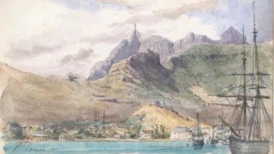 Diario de un marino y acuarelista. La increíble aventura de Henry Zuber